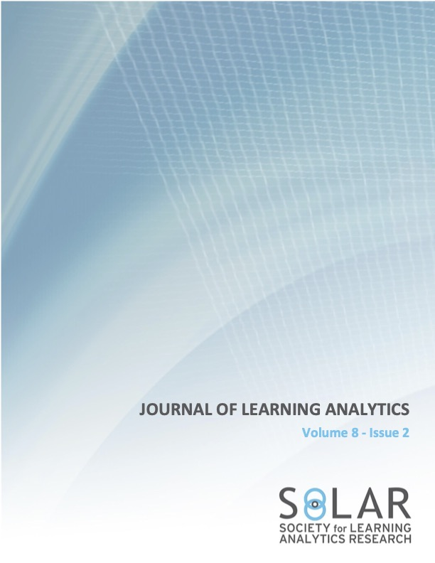 View Vol. 8 No. 2 (2021): Learning Analytics for Primary and Secondary Schools